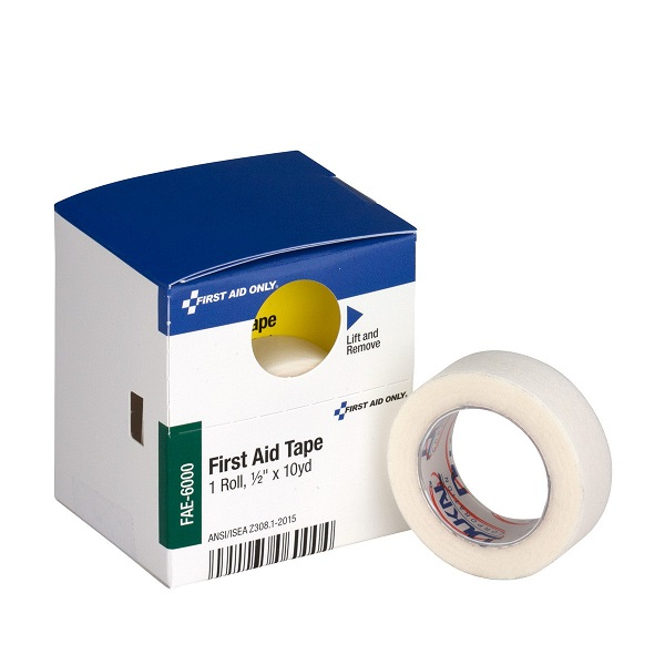 "First Aid Tape, 1/2"" x 10 yd"