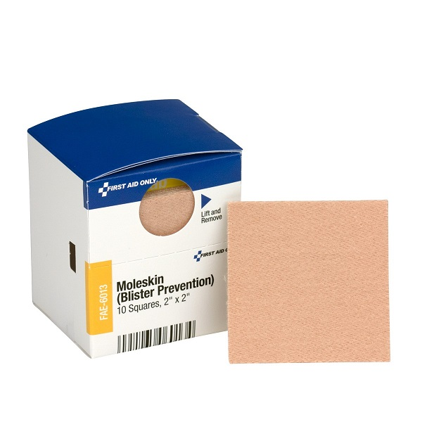 "Moleskin Blister Protection, 2"", 10/Box"