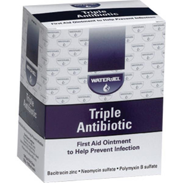 Water-Jel® Triple Antibiotic Ointment, 0.9 g, 144/Box