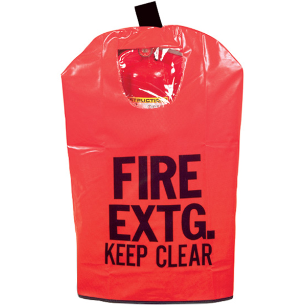 "Extinguisher Cover w/ Window, 20"" x 11 1/2"""