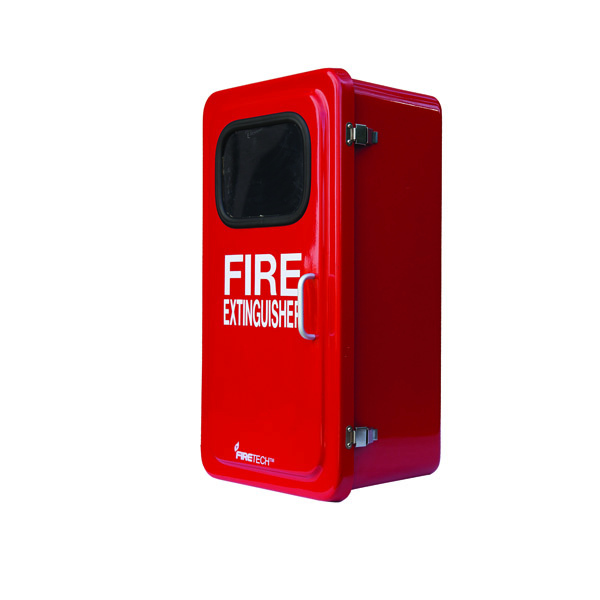 "FireTechâ""¢ Fiberglass Extinguisher Cabinet, 36 1/8""H x 19 5/8""W x 14""D"