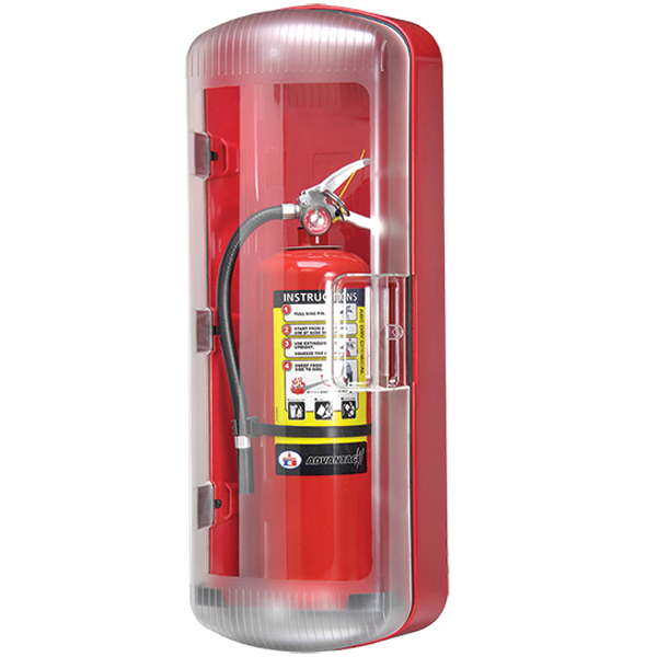 "FireTechâ""¢ ABS Extinguisher Cabinet"