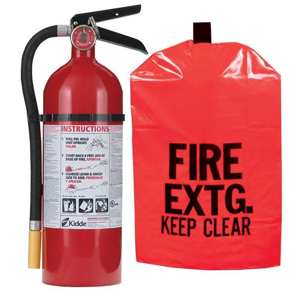 5 lb ABC Pro Line Fire Extinguisher w/ Heavy-Duty Fire Extinguisher Cover