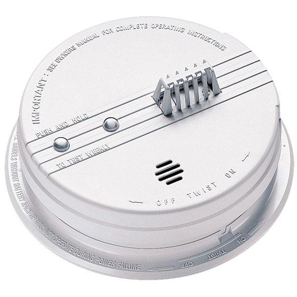Kidde Heat Detector w/ Thermal Sensor, AC/DC