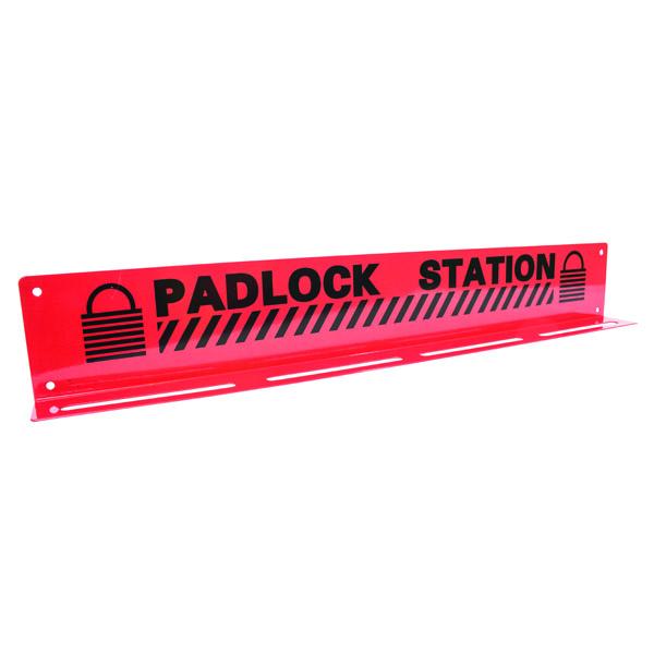 """TruForceâ""""¢ Heavy-Duty Padlock Station, 20 Lock, 3 1/4"""" x 20 3/4"""""""