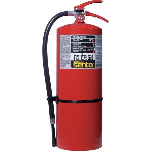 Ansul® Sentry® 20 lb ABC Fire Extinguisher w/ Wall Hook