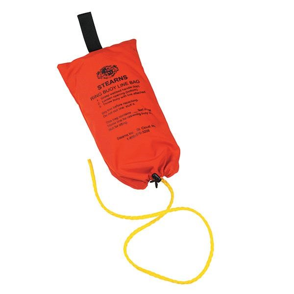 "Stearns® Ring Buoy Rope w/ Bag, 3/8"" x 90'"