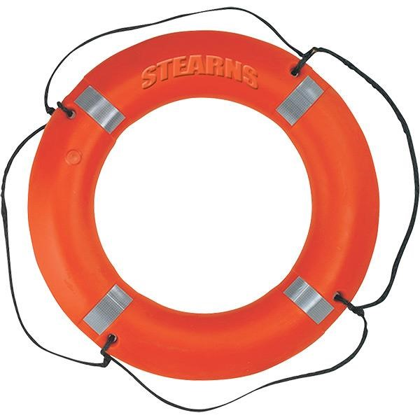 Stearns® Ring Buoy, Reflective, 30""