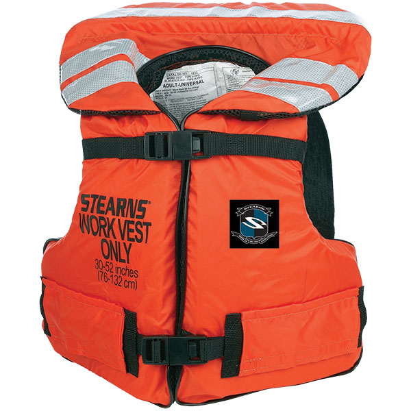 "Stearns® Work Master™ Vest, Adult Universal (30""–52"" Chest)"