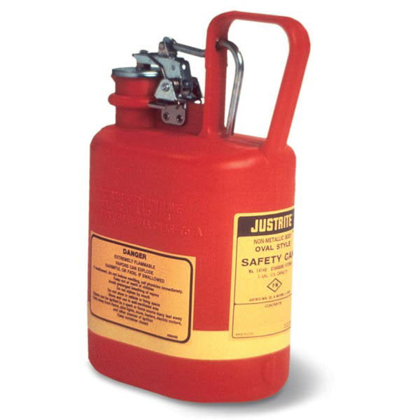 Justrite® Type I Oval Safety Can, 1 gal