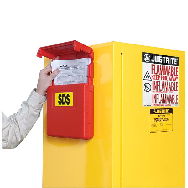 Justrite® Document Storage Boxes
