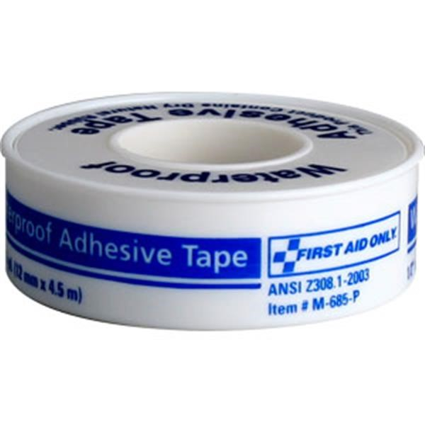 "Waterproof First Aid Tape, 1/2"" x 5 yd"