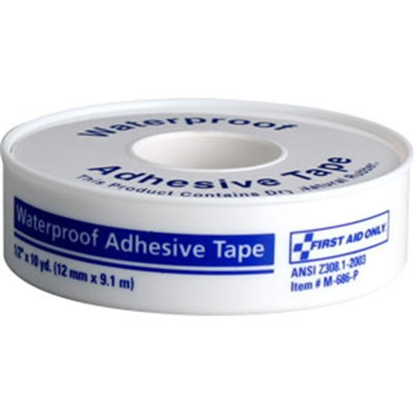 "Waterproof First Aid Tape, 1/2"" x 10 yd"