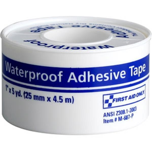"Waterproof First Aid Tape, 1"" x 5 yd"