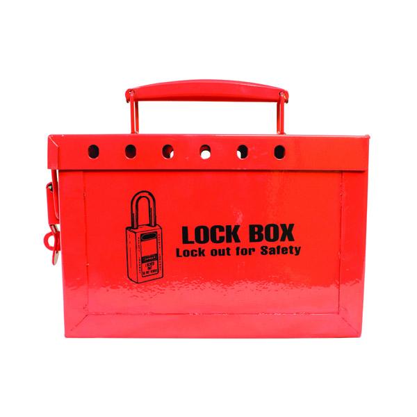 """TruForceâ""""¢ Lock Box, 13 Lock, 9""""H x 6""""W x 3 3/4""""D"""