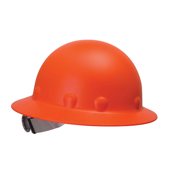 Fibre-Metal® Roughneck P1 Full-Brim Hat, Hi-Vis Orange