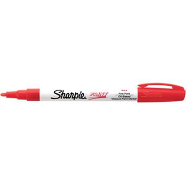 Sharpie® Paint Marking Pen, Fine, Red