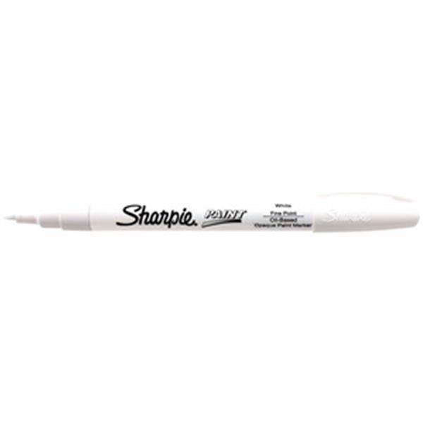 Sharpie® Paint Marking Pen, Fine, White
