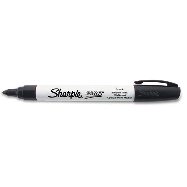 Sharpie® Paint Marking Pen, Medium, Black