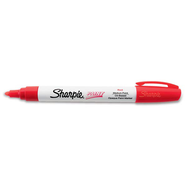 Sharpie® Paint Marking Pen, Medium, Red