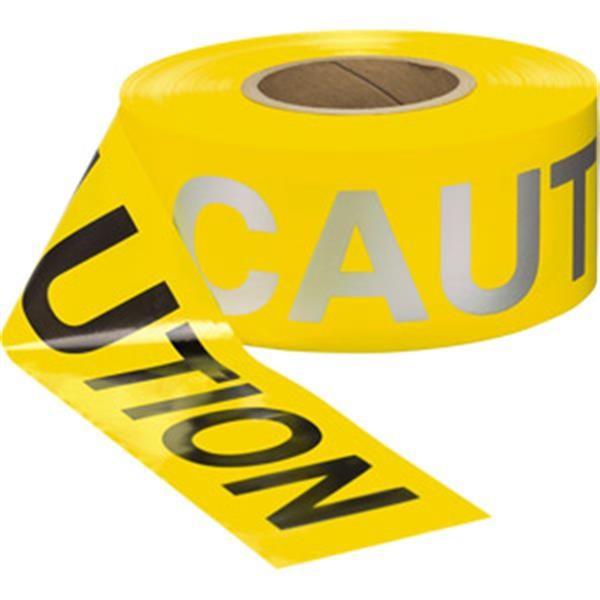 Presco Day/Night Caution Barricade Tape