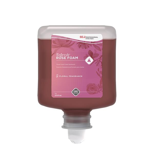 "Deb Group Refreshâ""¢ Rose Foam Hand Cleanser, 1 L, 6/Case"