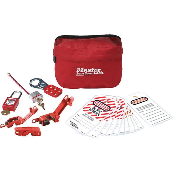 Master Lock® Compact Lockout Pouch (Electrical)