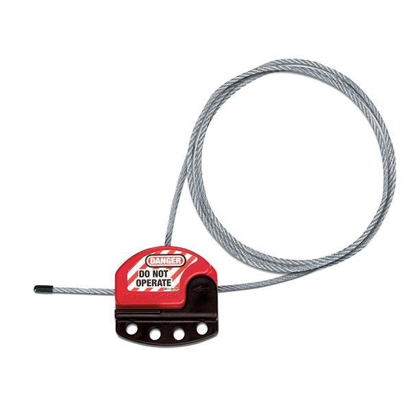 Master Lock® Adjustable Cable Lockout