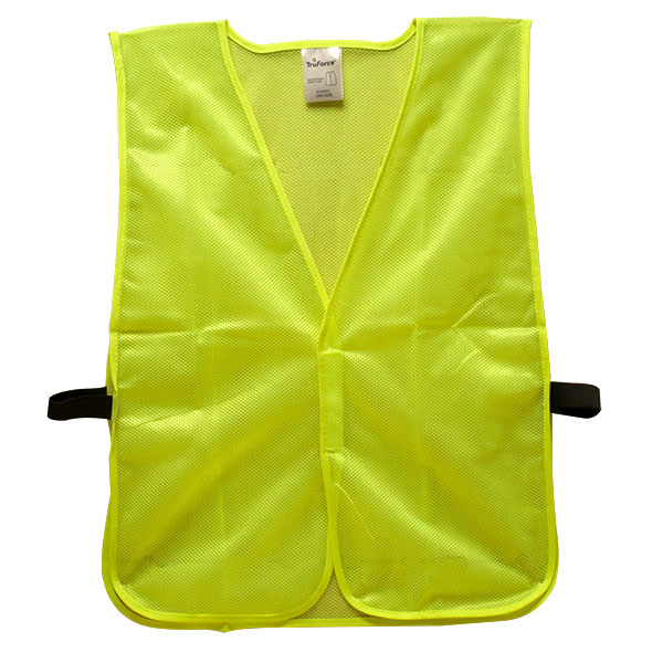 "TruForceâ""¢ General-Purpose Mesh Safety Vest, Lime w/o Stripes"