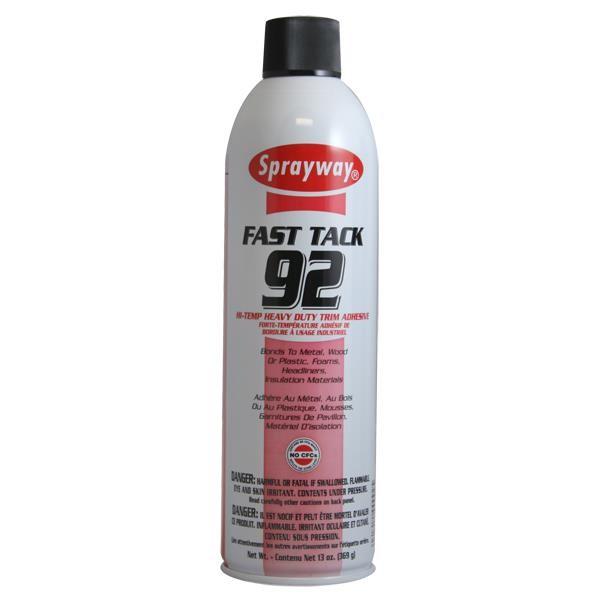 Sprayway® Fast Tack 92 Hi-Temp Heavy Duty Trim Adhesive