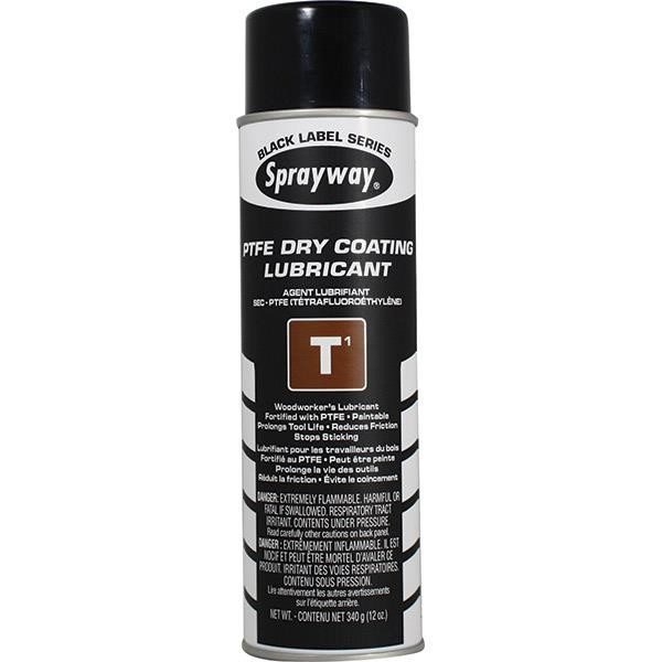 Sprayway® T1 TFE Dry Coating Lubricant & Release Agent