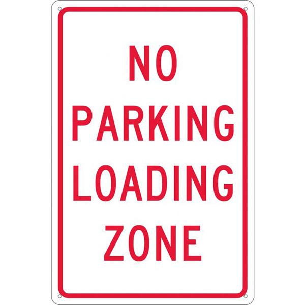 "NMCâ""¢ ""No Parking Loading Zone"" Sign"