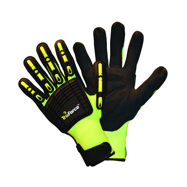 """TruForceâ""""¢ Nitrile Coated Dorsal Protection Gloves, 3X-Large"""